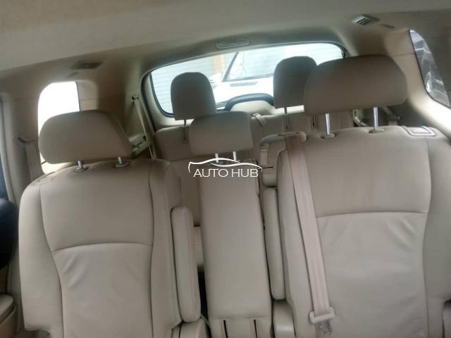 2009 Toyota Highlander White