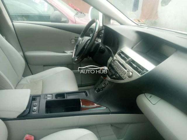 2011 Lexus RX350 White