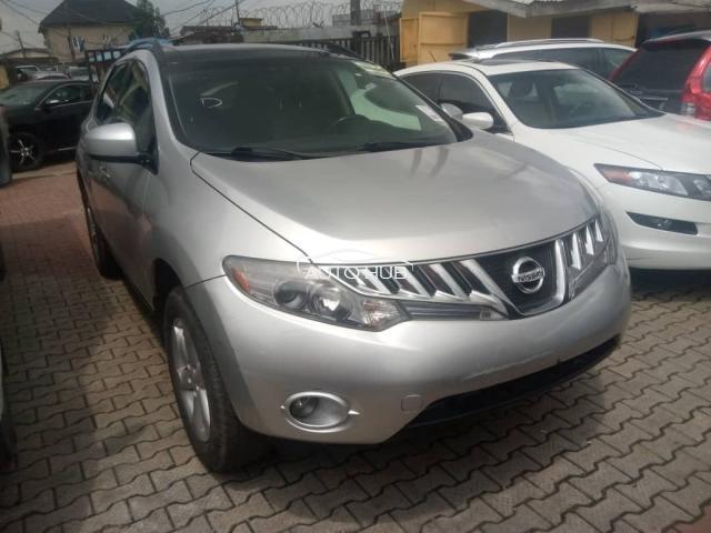 2010 Nissan Murano Silver
