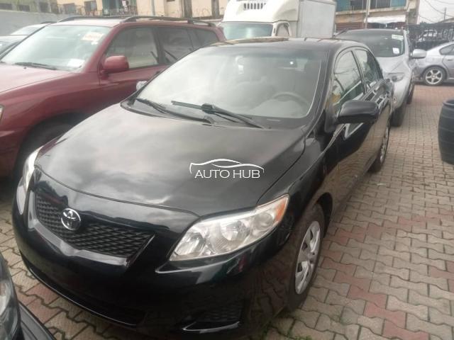 2010 Toyota Corolla Black