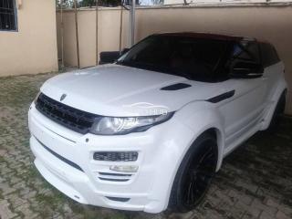 2014 Range Rover Evoque White