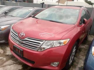 2010 Toyota Venza Red