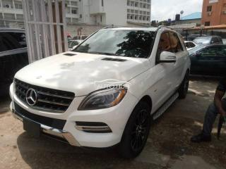 2012 Mercedes ML350 White