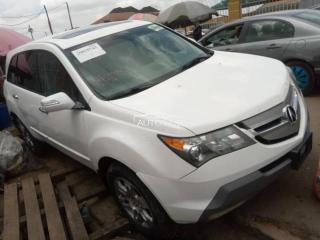 2009 Acura MDX White