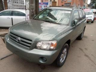 2007 Toyota Highlander Green