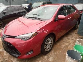 2017 Toyota Corolla Red