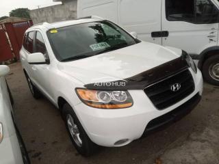 2007 Hyundai Santafee White