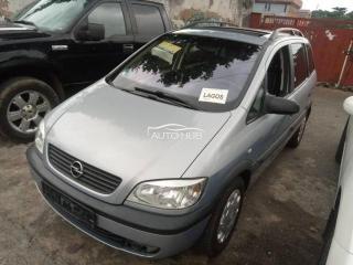 2003 Opel Zafira Silver
