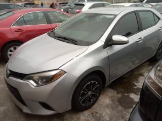 2016 Toyota Corolla Silver