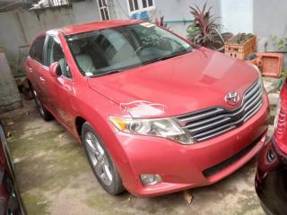 2009 Toyota Venza Red