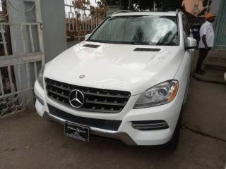 2014 Mercedes-Benz ML350 White