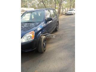 2005 Honda CRV Green