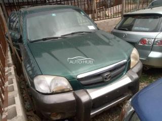 2001 Mazda Tribute Green