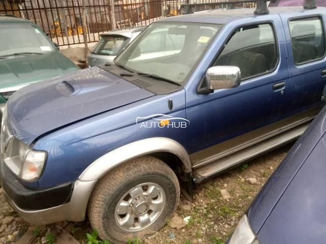 2002 Nissan Frontier Blue