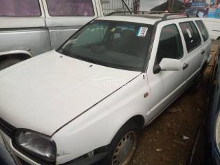 1997 Volkswagen Golf White