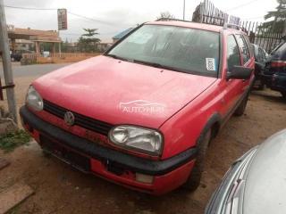 1997 Volkswagen Golf Red