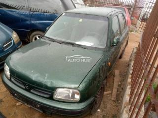 2001 Nissan Micra Green