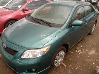 2009 Toyota Corolla Green