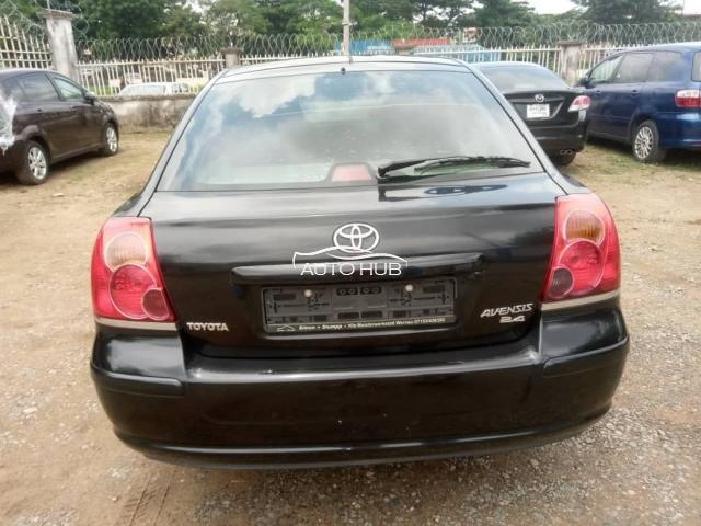 2007 Toyota Avensis Black