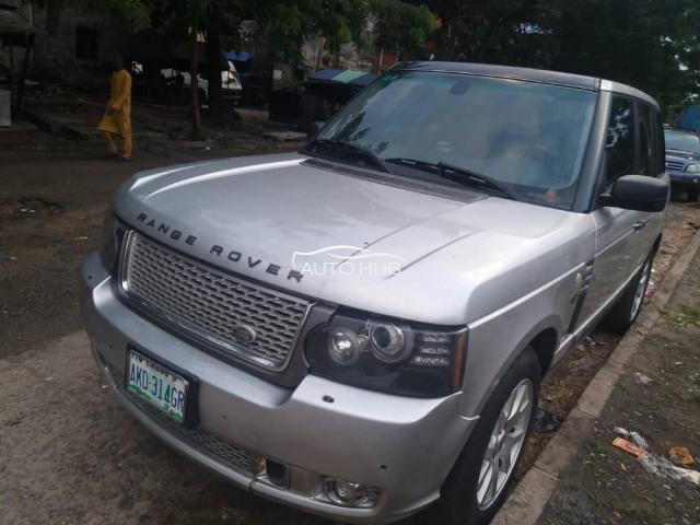 2005 Range Rover Silver