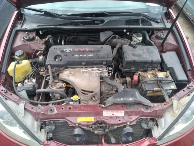 2004 Toyota Camry Red