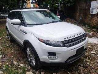 2012 Range Rover Evoque White