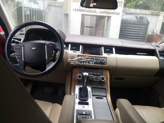 2012 Range Rover Sport Red