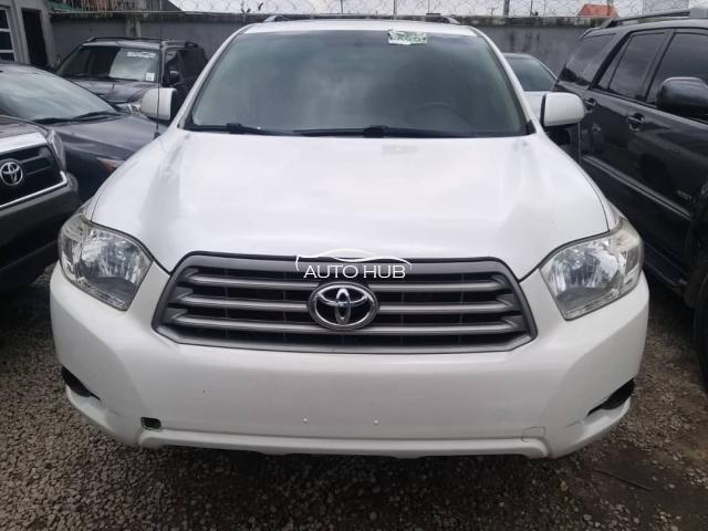 2010 Toyota Highlander White