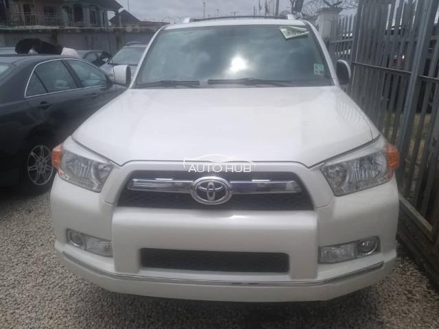 2012 Toyota 4 Runner White
