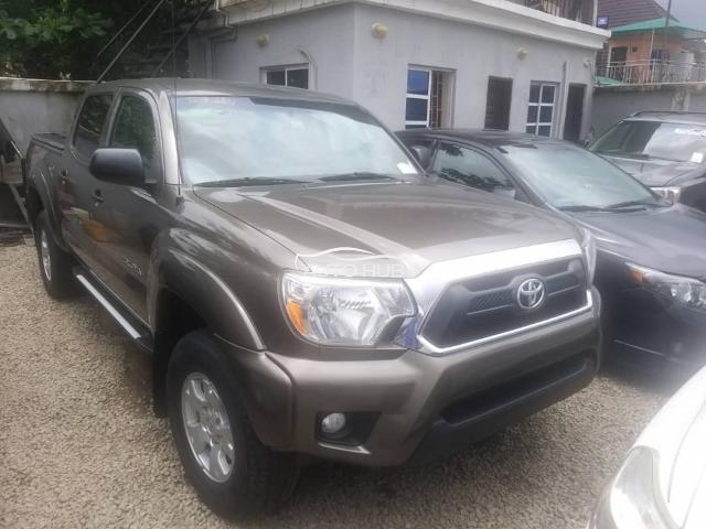 2014 Toyota Tacoma Brown