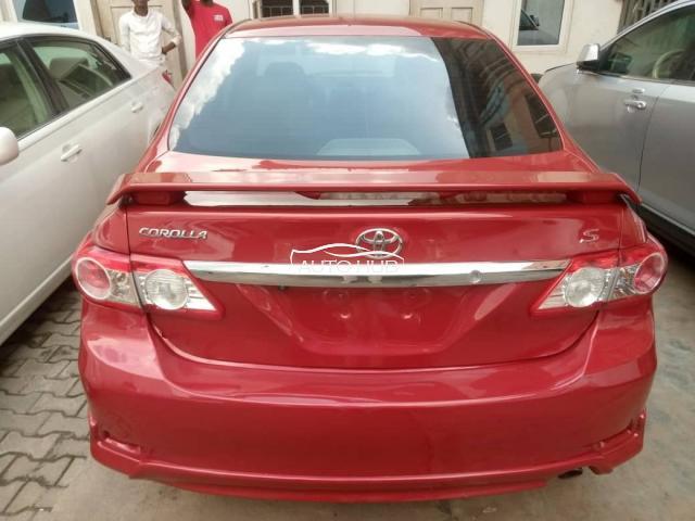 2012 Toyota Corolla Red