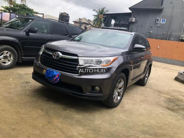 2015 Toyota Highlander Gray