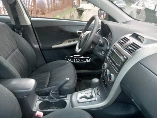 2012 Toyota Corolla Sport Silver