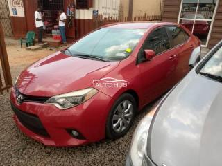 2015 Toyota Corolla Red