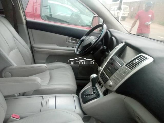 2007 Lexus RX350 Silver