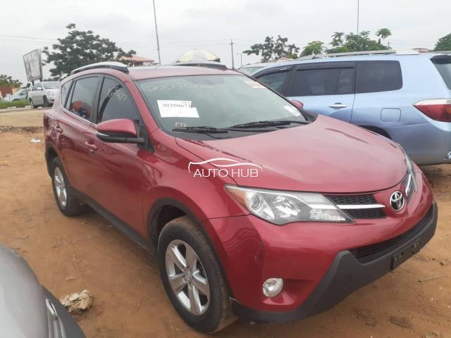 2014 Toyota Rav 4 Red