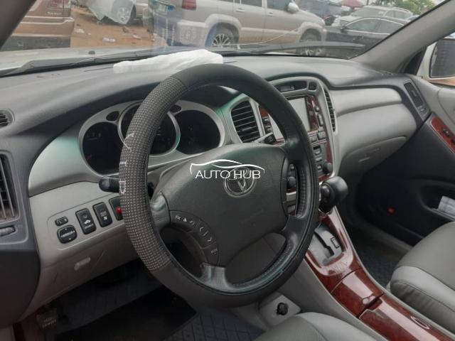 2007 Toyota Highlander Silver