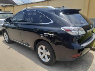 2012 Lexus RX 350 Black
