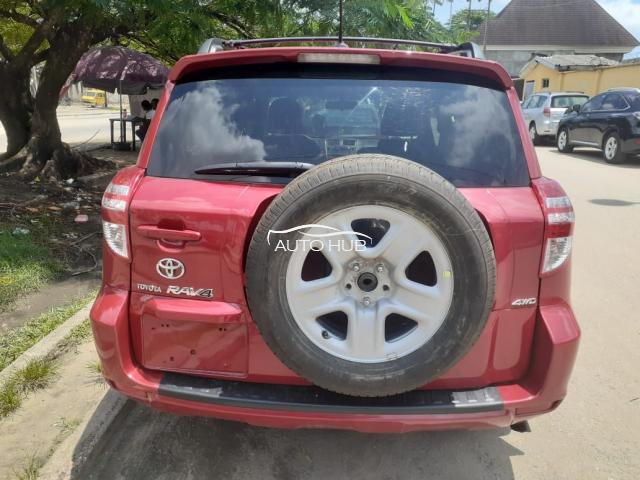 2010 Toyota Rav 4 Red