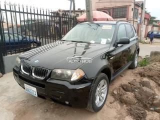 2007 BMW X3 Black