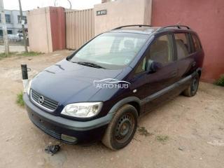 2003 Opel Zafira Blue