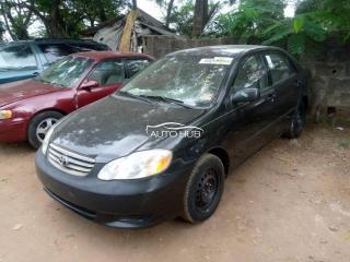 2003 Toyota Corolla Black