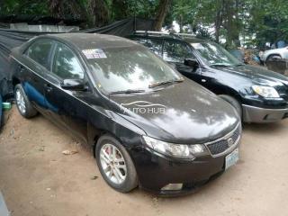 2011 KIA Cerato Black