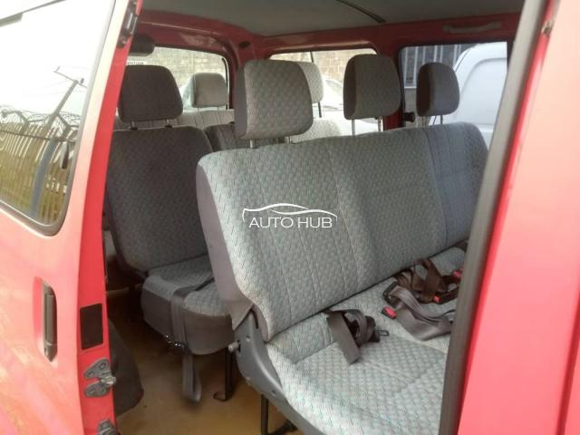 2002 Toyota Hiace Red