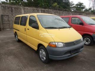 2001 Toyota Hiace Yellow