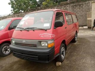 1995 Toyota Hiace Red