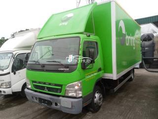 2010 Mitsubishi Fiyso Canter Green
