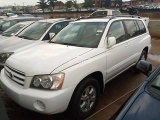 2002 Toyota Highlander White