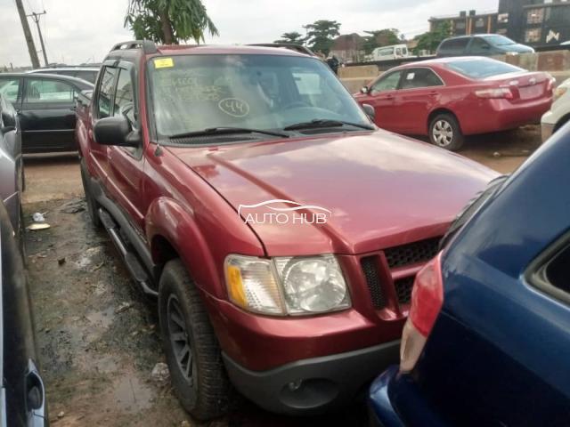 2001 Ford Explorer Red