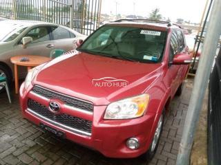 2011 Toyota RAV-4 Red